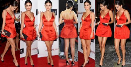 Selena Gomez Fantástica Con Microvestido