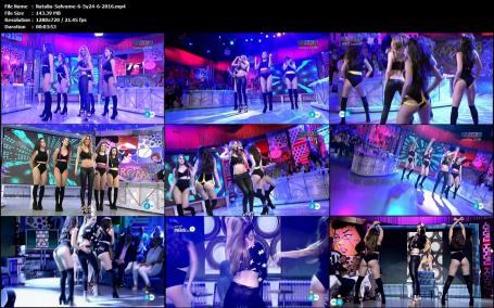 Natalia Video Con Leggins Ajustados En Dos Actuaciones